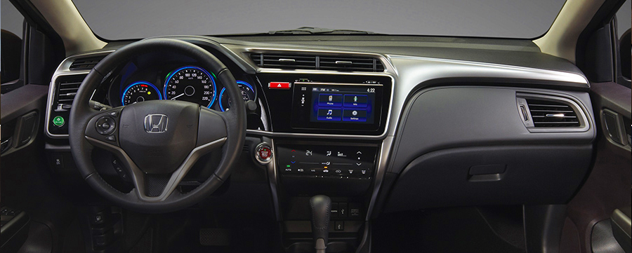 You Can Also Experience The Power Of A Single Touch With All New Honda City Screen Multi Information Panel Every Detail Is Made Finest